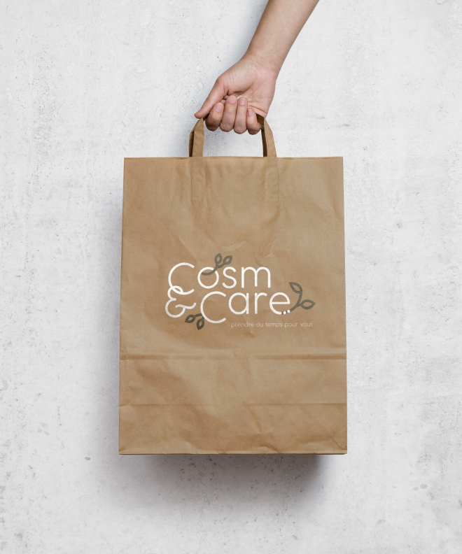 Brown Paper Bag MockUp